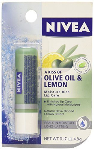 Nivea Moisture Rich Lip Care Olive Oil & Lemon