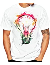 Camiseta de verano, RETUROM Hombres o muchacho más tamaño fresco estilo manga corta de algodón camiseta blusa