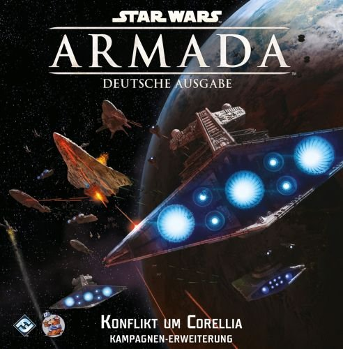 Fantasy Flight Games FFGD4319 Star Wars: Armada-Konflikt um Corellia (Wars-flotte Star)