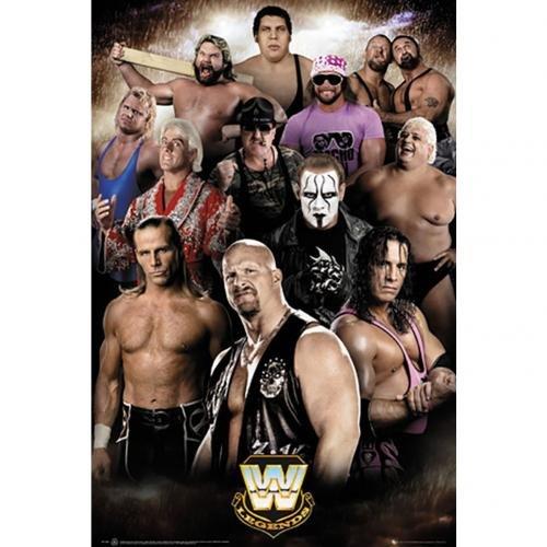 GB Eye WWE, Legenden, Maxi Poster 61x 91,5cm, Verschiedene (Poster Wwe)