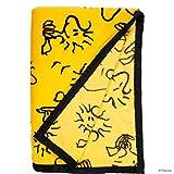 Butlers Peanuts Flanell-Decke Woodstock Allover - weiche Kuscheldecke 130 x 170
