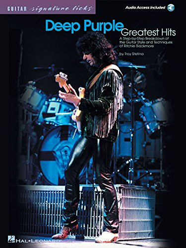 Deep Purple Greatest Hits: Signature Licks  (Book&CD) (Guitar Signature Licks)