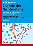 Image de Chemie der Nichtmetalle: Von Struktur und Bindung zur Anwendung (Auflage)