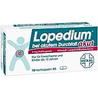 Lopedium akut, 10 St. Kapseln preisvergleich bei billige-tabletten.eu