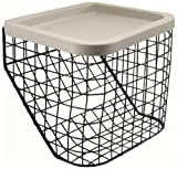 Aidapt Tri Walker Basket Coated Metal Wire Mesh Body (Eligible for VAT relief in the UK)
