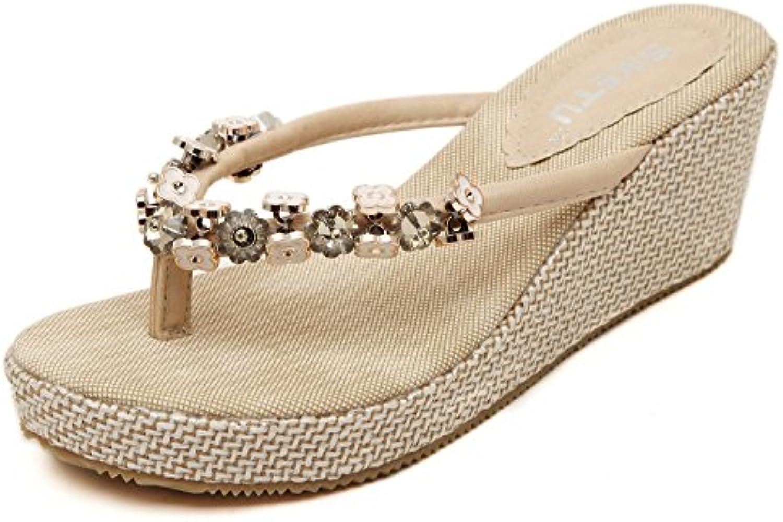 hommes / femmes femmes femmes sandale wedge tong vendre de style et de façon dynamique. 648a21