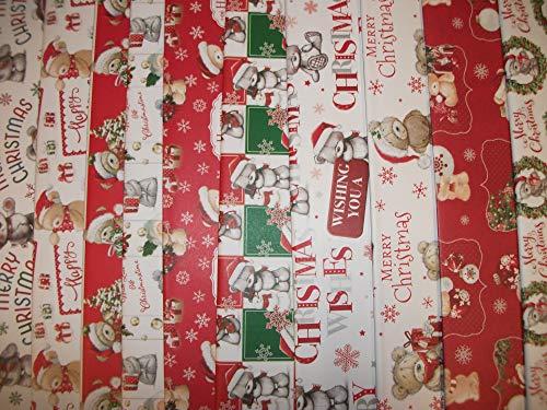 20 fogli di carta regalo natalizia carina Carta da regalo