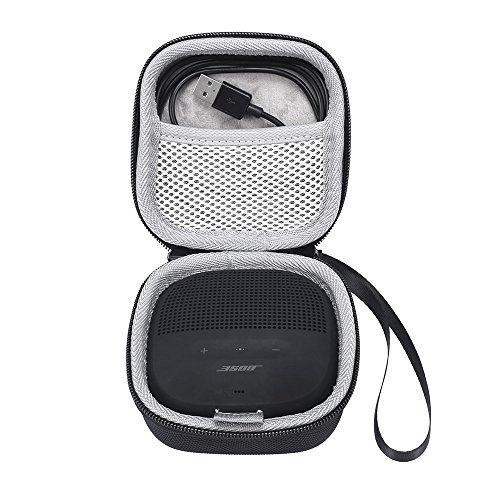 Bose SoundLink Micro Taschen & Schalen EVA Hart Fall Reise Passend für Ladegeräte und Kabel Tragen Tasche für Bose SoundLink Micro Bluetooth-Lautsprecher schwarz Micro Case