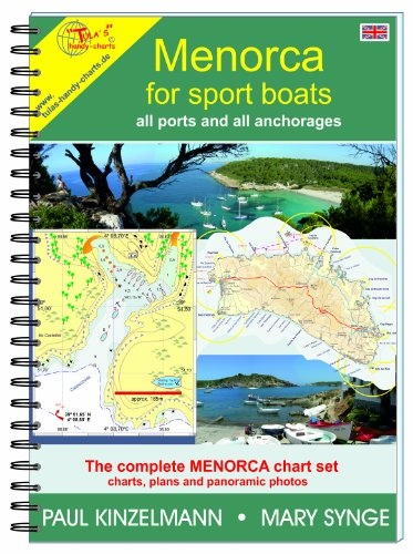 MENORCA FOR SPORT BOATS - all ports and all anchorages (2017) Coastal Marine Charts