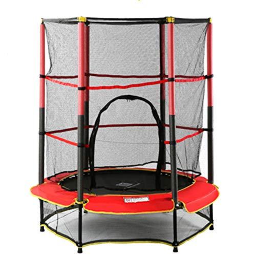 """Trampoline Kleinkind Gehäuse - 55""""runde Kids Mini Springless Jumping Mat für Indoor/Outdoor, Unterstützung 100kg gartentrampolin"""