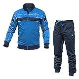 Diadora Tuta Sport Blu L