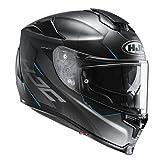 HJC Helm RPHA 70 GADIVO MC-2SF Integralhelm Motorradhelm mit Sonnenblende und Antifogscheibe (XXL (62/63))