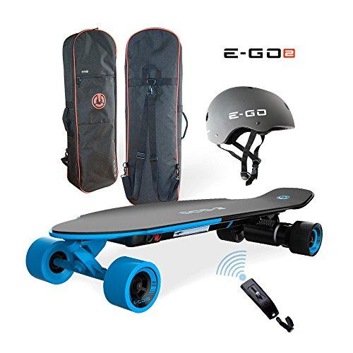 Yuneec EGO 2 E-Longboard Royal Wave + Helm+ Tasche+ Zubehör Elektro Longboard E-GO 2