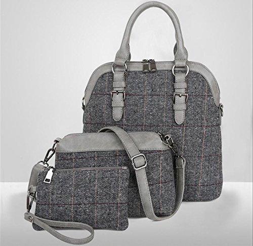 X&L 2016 Damen drei-Eltern Kind mit der Tasche Tasche Schulter Diagonal eingestellt gray