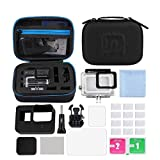 DuDuDu Set di Accessori Fotocamera Azione Surf 12-in-1 Custodia Surf Accessori/Combo Eva per GoPro Kits + Piccola CAS