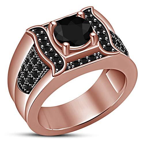 Vorra Fashion  -  925 Sterlingsilber Sterling-Silber 925 Rund Black