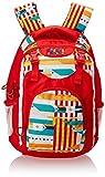 Wildcraft Wiki Daypack Polyester 30 liters Red Laptop Bag (8903338048961)