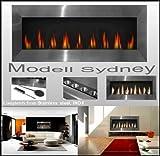 XXL de gel chimenea/Modelo Sydney/de acero inoxidable/para bioetanol o