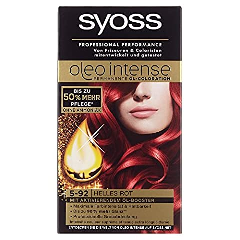 Syoss Oleo Intense Coloration 5-92 Helles Rot, 115