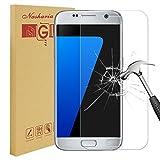 Nasharia Galaxy S7 Schutzfolie Displayschutz, 9H Härtegrad, 99% Transparenz Full HD, Anti-Fingerabdruck [Anti-Kratzer] Panzerglasfolie Displayschutzfolie für Samsung Galaxy S7