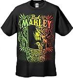 Bob Marley Kaya Now Jumbo Print T-Shirt