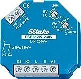 Eltako Stromstoßschalter für Beschattungselemente und Rollladen mit ZentralSteuerung, Kleinspannung in Verbindung mit Dem Gateway FTS14GBZ, 1 Stück, ESB61ZK-230V