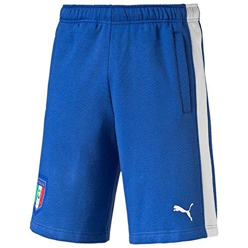 PUMA Herren Hose FIGC Italia Fanwear Bermudas team power blue-white