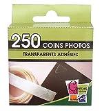PW International - 250 coins photos transparents adhésifs