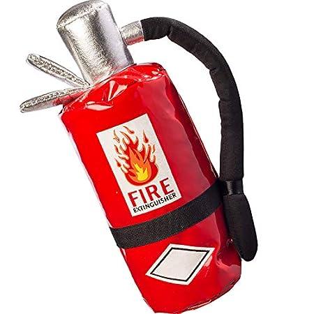 Orlob Fasching Damen Handtasche Feuerlöscher Tasche Feuerwehr Kostüm-Zubehör Karneval