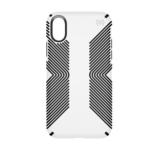 Speck 103131-6587  Presidio Schutzhülle für Apple iPhone X eclipse-blau/carbon-schwarz White/Black