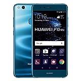 Huawei 351973 P10-Lite Smartphone (13,2 cm (5,2 Zoll) Display, 32 GB, Dual SIM, Android 7.0 Nougat) blau