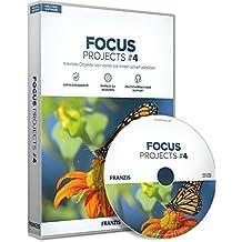 FRANZIS FOCUS projects #4 Software|4 standard|3 Geräte|-|Für Windows PC und MAC|Disc|Disc