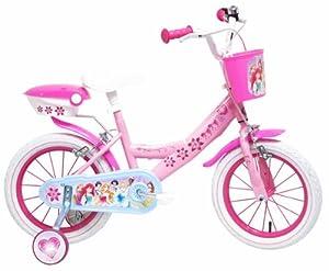 """Denver Bike Princess, 14"""" Niñas Ciudad 14"""" Acero Rosa, Blanco bicicletta - Bicicleta (14"""", Vertical, Ciudad, 35,6 cm (14""""), Acero, Rosa, Blanco, 35,6 cm (14""""))"""