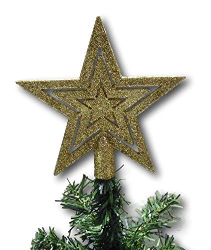 Puntale A Stella Per Albero Di Natale.Urban Design Puntale Per Albero Di Natale A Forma Di Stella In