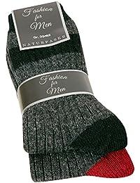 Herren Wollsocken Herrensocken Wolle warme Wintersocken aus Wolle Herren aus 70% Wolle 2 oder 8 Paar