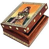 Jewellery Box/Trinket Box/Storage Box Out Of Gemstones And Shisham Wood Bride Design By Handicrafts Paradise