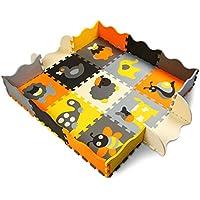 XMTMMD niños Puzzle Play Mat colorido suave no tóxico Jigsaw espuma baldosas de piso y juguetes AM11B