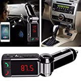 SPYKART Car MP3 Audio Player Bluetooth FM Transmitter Transmiter FM Modulator Car Kit