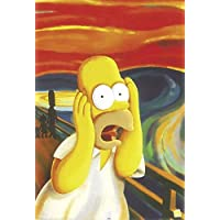 THE SIMPSONS POSTER HOMER SIMPSON - THE SCREAM (61cm x 91,5cm)