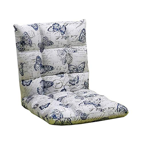 Willsego sedia da terra pieghevole divano lazy letto singolo schienale computer gaming bay chair sedia in cotone canapa (colore : -, dimensione : -)