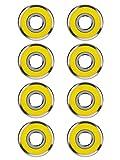 Best Bearings - 8 Pack 608 2RS Bearings Skateboard Bearings Longboard Review