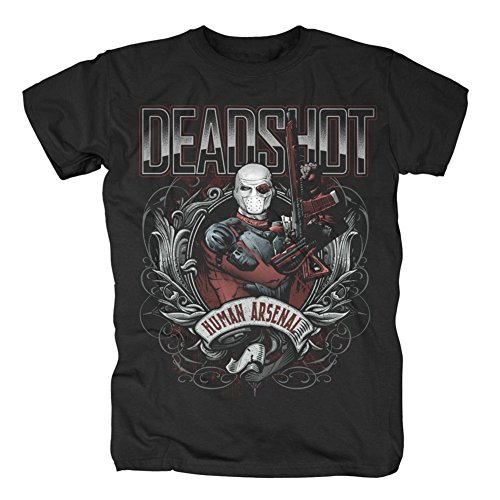 Suicide Squad Human Arsenal T-Shirt Black