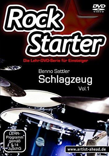 Rockstarter, Vol.1 - Schlagzeug - Die brandneue Lehr-DVD-Serie für Einsteiger! Stil Voller Rock