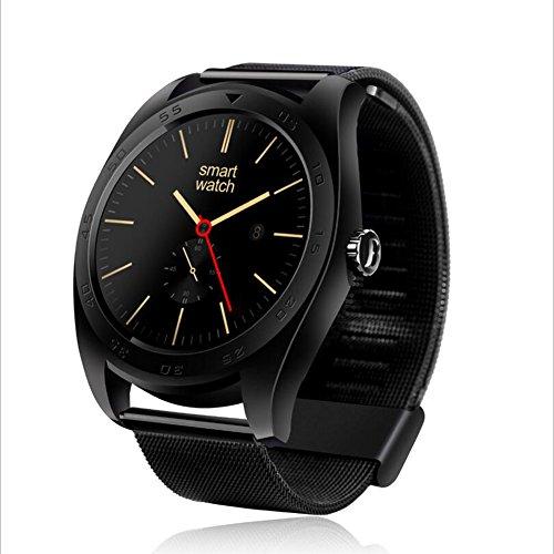 Human K89 Intelligente Uhr Bluetooth Sport Schrittzähler Telefon Informationen Wecker Erinnerung Wasserdichte Uhr,Black