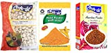 Chukde Phool Makhana,Anardana Powder,Haldi Powder Pack of 3