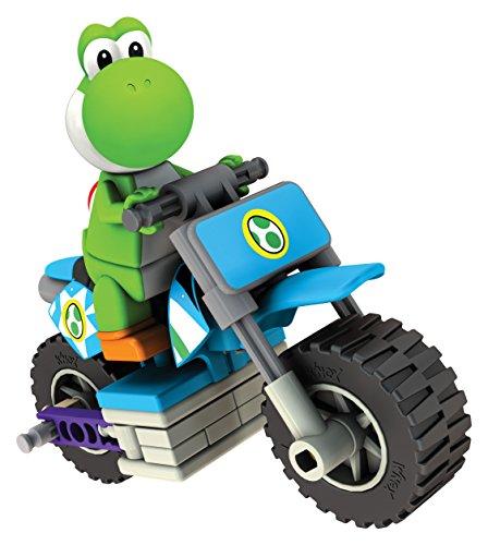K'Nex 33126Y - Mario Kart Yoshi mit Bike (Luigi Kart Knex)