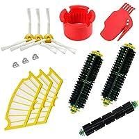 Reposición Pack Cepillos Kit para iRobot Roomba Serie 500 con filtros y cepillos para 500 520 530 531 532 537 540 550 560 570 580