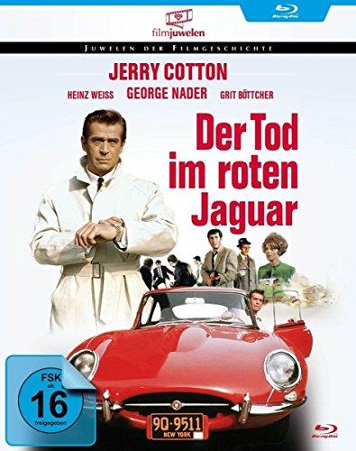 Bild von Jerry Cotton - Tod im roten Jaguar (Filmjuwelen) [Blu-ray]