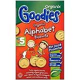 Organix | Alphabet Biscuits | 5 x 5x25g