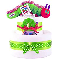 The Very Hungry Caterpillar Nappy Cake (2 Tiers)